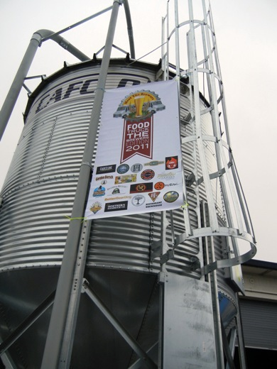 Is there beer in that silo?