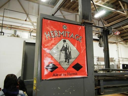 Hermitage banner.