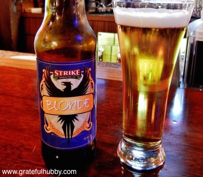 Strike Brewing Blonde
