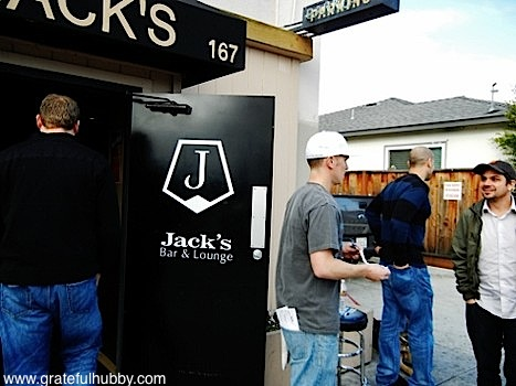 Checking in with Jack's Bar & Lounge Jordan Trigg at the inaugural San Jose Beerwalk in Japantown