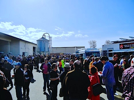 A great day for the sold out San Jose Meet the Brewers Beerfest