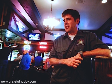 Ballast Point head brewer Yuseff Cherney at Harry's Hofbrau San Jose