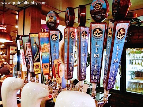 Ballast Point on tap at Harry's Hofbrau San Jose