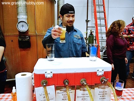 Campbell's Rock Bottom Brewer Larry Hoang