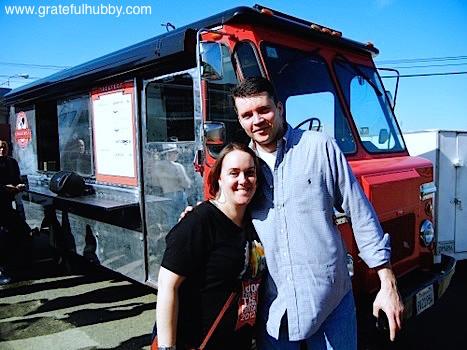 Carolyn Hopkins-Vasquez and California Cafe Executive Chef Mark Pettyjohn