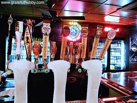 Deschutes Brewery on tap at Harry's Hofbrau San Jose