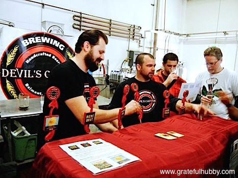 Devil's Canyon Brewing Draught Specialist Rudy Kuhn
