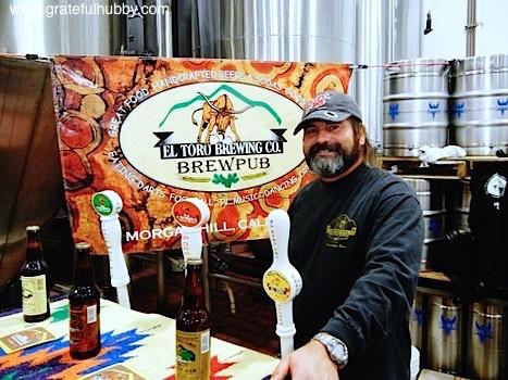 El Toro Brewing Brewmaster Geno Acevedo