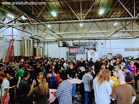 Excellent turnout for the San Jose Meet the Brewers Beerfest
