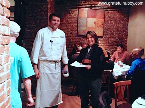Executive Chef Mark Pettyjohn and Brewmaster Denise Jones