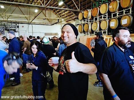 Firehouse Brewery Assistant Brewer Jason Gutierrez