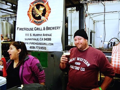 Firehouse Grill & Brewery Brewmaster Steve Donohue