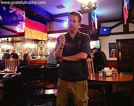 Lost Coast Brewery Bay Area Territorial Manager Jack Van Stone at Harry's Hofbrau San Jose