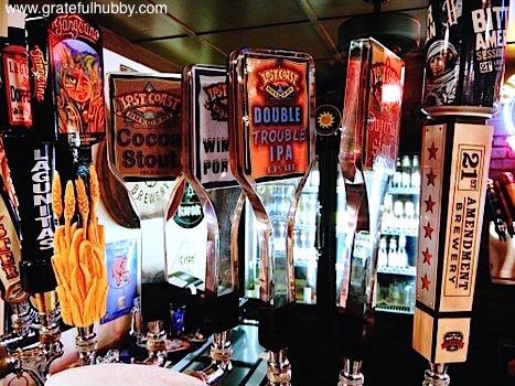 Lost Coast Brewery on tap at Harry's Hofbrau San Jose