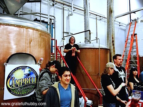 Tied House/Hermitage Brewing Director of Marketing Carolyn Hopkins-Vasquez
