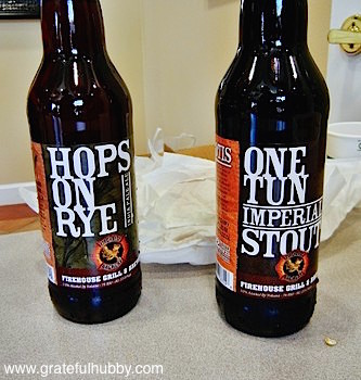 FireHouse Brewery Hops on Rye IPA and One Tun Imperial Stout