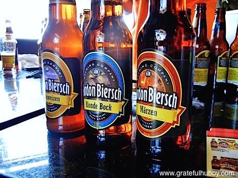 Gordon Biersch beers