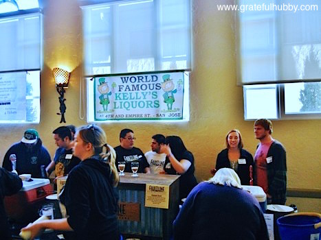 Kelly's Liquors and Faultline Brewery at the Winter KraftBrew Beer Fest 2012