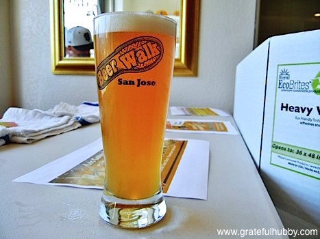 Los Gatos Brewing Hefeweizen