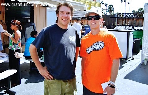 Rock Bottom Campbell Brewmaster Russell Clements (left) and Jack's Bar & Lounge Owner Jordan Trigg (right)