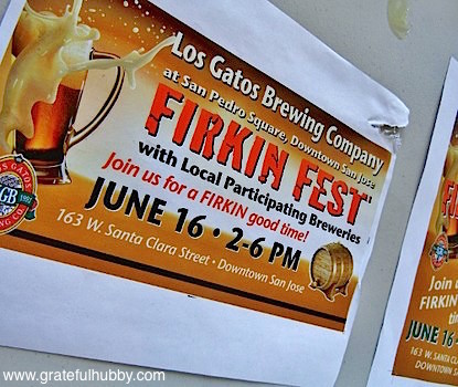 Upcoming Los Gatos Brewing Company Firkin Fest