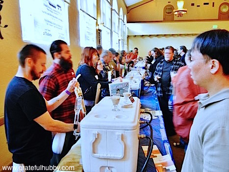Waiting for a pour at the Winter KraftBrew Beer Fest 2012