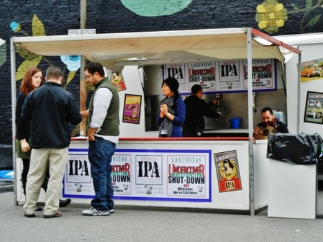 Sponsor Lagunitas at the 2011 Better Brew Tasting Garden
