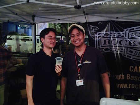 Yours truly and Peter Estaniel of BetterBeerBlog at the 2012 Better Brew Tasting Garden
