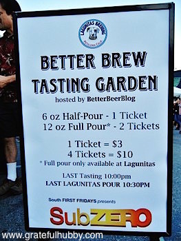 The 2012 Better Brew Tasting Garden hosted by BetterBeerBlog