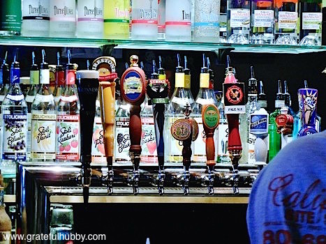 The taps at Jack's Bar & Lounge in Japantown, San Jose hosts weekly Thursday pint nights