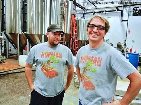 Steve Donohue and Hermitage Brewing Company Brewmaster Peter Licht