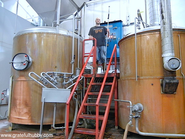Greg Filippi - Lead Brewer at Hermitage Brewing Company, May 18, 2012