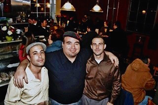 KraftBrew founders and Naglee Park Garage owners Louis, Chris & Brendan (photo courtesy of Naglee Park Garage)
