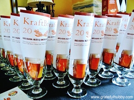 Program and glassware from the 2011 KraftBrew Beer Fest
