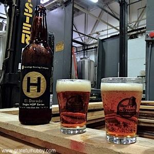 El Dorado IPA is the latest addition to Hermitage Brewing Company Single Hop Series