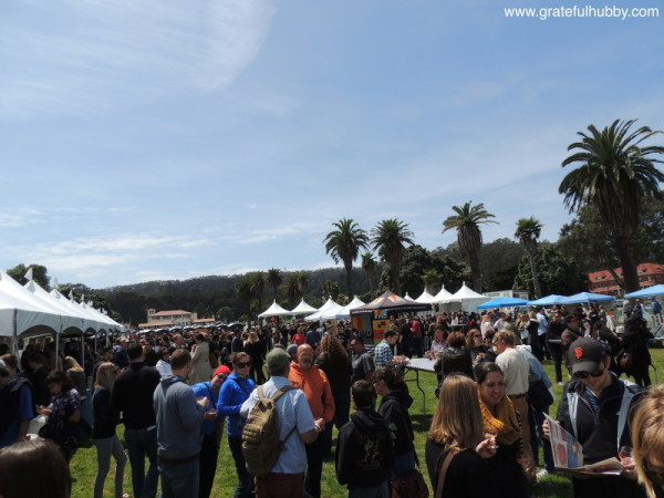 Great crowd - and weather! - at the 2015 Cider Summit SF