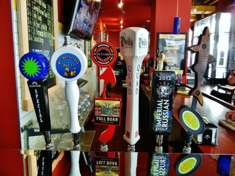 Beer on tap last month at SmokeEaters in downtown San Jose