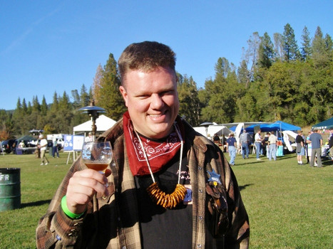 Derek Wolgram, President of the Silicon Valley Sudzers Homebrew Club (photo courtesy of Robin Wolfgram)