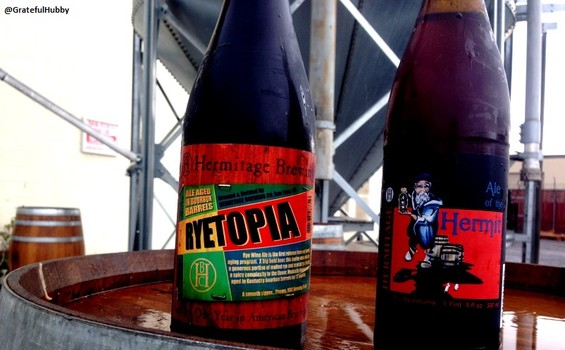 Hermitage Brewing Company Bourbon Barrel Aged Ryetopia and Ale of the Hermit release party on Nov. 11, 2015