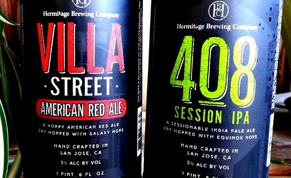 Hermitage Brewing debuts Villa Street American Red Ale & 408 Session IPA (Photo courtesy of Hermitage)