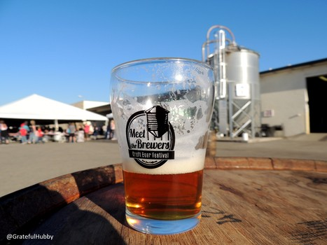 Photo from Meet the Brewers Beer Festival in San Jose, Feb. 2015