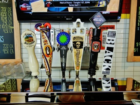 More beers on tap
