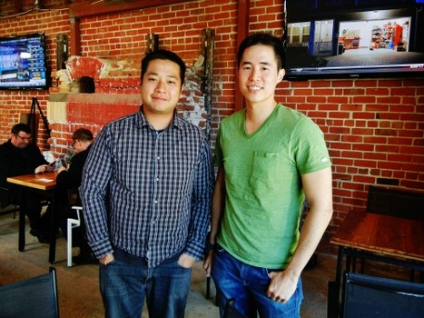 Original Gravity Public House Owners Dan Phan (l) and Johnny Wang (r)