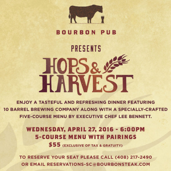 Bourbon Steak Beer Dinner 1