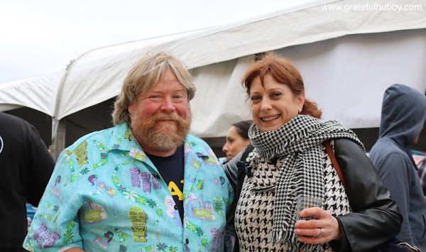 Southbay Beer Hounds Lance Boyle and Deb Anderson enjoying the Meet the Brewers Festival held earlier this year