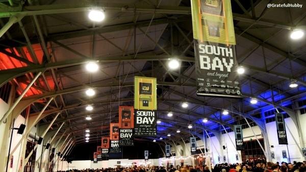 South Bay banners at SF Beer Week 2015 Opening Gala