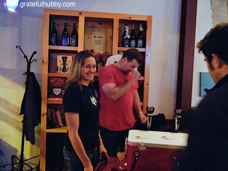 CEO Jenny Lewis and Brewmaster Drew Ehrlich of Strike Brewing