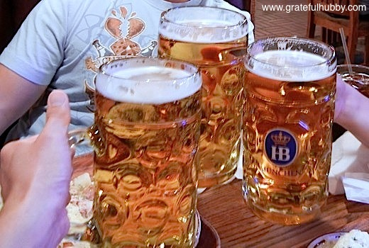 Cheers! Prost! Gunbae! from Grateful Hubby