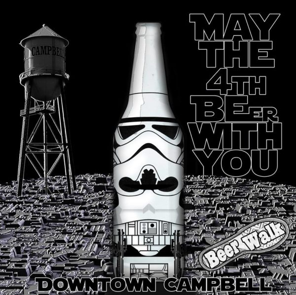 5th Annual Downtown Campbell Beerwalk: MAY THE 4TH BEer