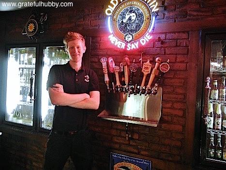 General Manager Kevin Olcese, Harry's Hofbrau in San Jose